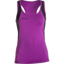 Topy sportowe damskie: Top w kolorze fioletowo-czarnym