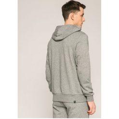 Puma - Bluza. Szare bluzy męskie rozpinane marki Puma, l, z nadrukiem, z bawełny, z kapturem. W wyprzedaży za 179,90 zł.