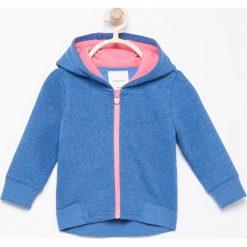 Bluza z kapturem - Niebieski. Niebieskie bluzy niemowlęce marki Reserved, z kapturem. Za 24,99 zł.
