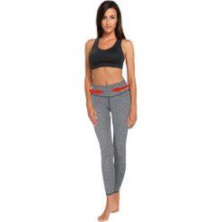 Spodnie damskie: Gwinner Spodnie damskie SLIMMING LEGGINGS II CLIMAline melanż r. XL