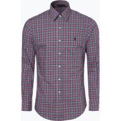 Polo Ralph Lauren - Koszula męska – Slim Fit, niebieski. Niebieskie koszule męskie na spinki Polo Ralph Lauren, m, z haftami, polo. Za 529,95 zł.