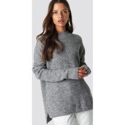 Sparkz Sweter Liepa - Grey. Szare swetry oversize damskie Sparkz, z dzianiny. Za 262,95 zł.