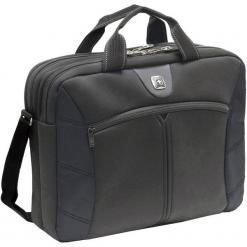 Wenger Sherpa 16'' czarna. Czarne torby na laptopa marki Wenger, z materiału. Za 139,90 zł.