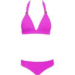 """Biustonosz bikini """"Color Mix"""" w kolorze fioletowym. Fioletowe biustonosze marki FOUGANZA, z bawełny. W wyprzedaży za 86,95 zł."""