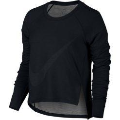 Bluzy rozpinane damskie: bluza sportowa damska NIKE DRY TOP LONG SLEEVE / 804666-010