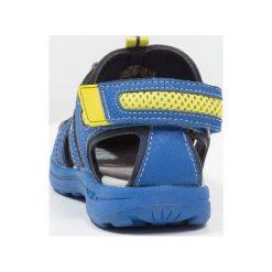 Geox VANIETT BOY Sandały trekkingowe royal/lime. Niebieskie sandały chłopięce Geox, z materiału. Za 199,00 zł.