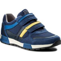 Sandały GEOX - J Alfier B. C J826NC 014AF C0072 D Blue/Yellow. Niebieskie sandały męskie skórzane Geox, na rzepy. Za 309,00 zł.