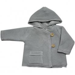 EKO Dziewczęcy Sweter Na Guziki 86 Szary. Niebieskie swetry dziewczęce marki bonprix, z kapturem. Za 99,00 zł.