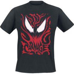 Venom (Marvel) Carnage T-Shirt czarny. Czarne t-shirty męskie z nadrukiem Venom (Marvel), xl, z okrągłym kołnierzem. Za 74,90 zł.