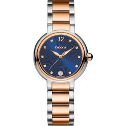 Zegarki damskie: Zegarek damski Doxa Blue Stone 510.65.206.60