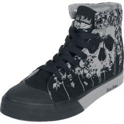 Rock Rebel by EMP Walk The Line Buty sportowe czarny. Czarne buty skate męskie marki Vans, z motywem z bajki. Za 164,90 zł.