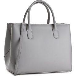 Torebka CREOLE - K10213  Szary. Szare torebki klasyczne damskie marki Creole, ze skóry, duże. W wyprzedaży za 299,00 zł.