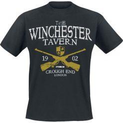 Shaun Of The Dead Winchester Tavern T-Shirt czarny. Czarne t-shirty męskie z nadrukiem Shaun Of The Dead, m, z okrągłym kołnierzem. Za 54,90 zł.