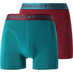 MUCHACHOMALO MEN SHORT SOLID 2 PACK Panty multicolor. Czerwone bokserki męskie MUCHACHOMALO, z bawełny. Za 169,00 zł.