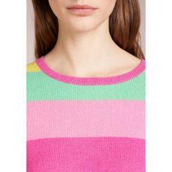 Swetry klasyczne damskie: FTC Cashmere STRIPEY Sweter pink