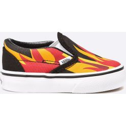 Vans - Tenisówki dziecięce. Szare buty sportowe dziewczęce marki Vans, z gumy. W wyprzedaży za 79,90 zł.