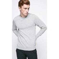 Kensington - Sweter. Szare swetry klasyczne męskie Kensington, m, z bawełny, z okrągłym kołnierzem. W wyprzedaży za 29,90 zł.
