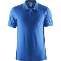 Koszulki polo: Craft Koszulka męska polo In The Zone Pique 1902643-2314 niebieska r. M