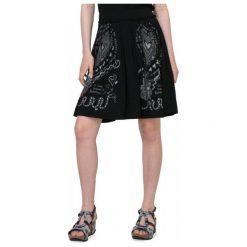 Desigual Spódnica Damska Lola Xs Czarny. Brązowe spódniczki marki Desigual, w paski, z materiału. W wyprzedaży za 159,00 zł.