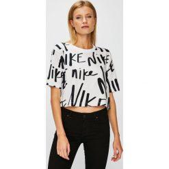 Nike Sportswear - Top. Szare topy damskie Nike Sportswear, l. W wyprzedaży za 89,90 zł.