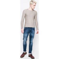 Review - Sweter. Niebieskie swetry klasyczne męskie marki Review. W wyprzedaży za 99,90 zł.