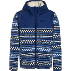 Jack Wolfskin NAVAJO MOUNTAIN Kurtka z polaru coastal blue. Niebieskie kurtki chłopięce marki Jack Wolfskin, z materiału. W wyprzedaży za 247,20 zł.