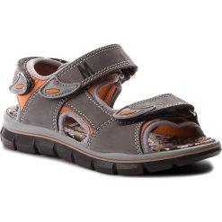 Sandały PRIMIGI - 1396022 S Grig.S. Szare sandały męskie skórzane marki Primigi. W wyprzedaży za 179,00 zł.