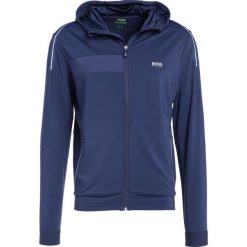 Bejsbolówki męskie: BOSS ATHLEISURE SAGGYTECH SLIM FIT Bluza rozpinana dark blue
