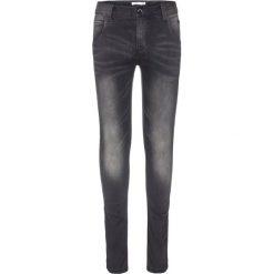 Name it NITCLAS Jeansy Slim Fit dark grey denim. Czerwone jeansy chłopięce marki Name it, l, z nadrukiem, z okrągłym kołnierzem. Za 129,00 zł.