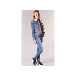 Jeansy skinny Levis  710 INNOVATION SUPER SKINNY. Niebieskie rurki damskie Levi's®, z jeansu. Za 335,30 zł.
