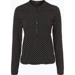 T-shirty damskie: Marc O'Polo – Damska koszulka z długim rękawem, czarny