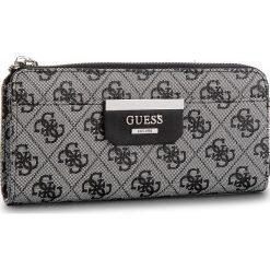 Duży Portfel Damski GUESS - SWSL64 22520  BLO. Białe portfele damskie marki Guess, z aplikacjami, ze skóry ekologicznej. W wyprzedaży za 209,00 zł.