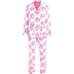 Piżamy damskie: PJ Salvage FLANNELS LIPS SET Piżama ivory