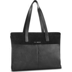 Torebka EVA MINGE - Olvera 4N 18NN1372666EF 601. Czarne torebki klasyczne damskie Eva Minge, ze skóry, bez dodatków. W wyprzedaży za 429,00 zł.