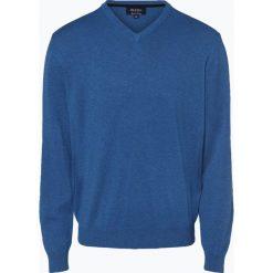 Mc Earl - Sweter męski, niebieski. Niebieskie swetry klasyczne męskie Mc Earl, l, z bawełny. Za 129,95 zł.