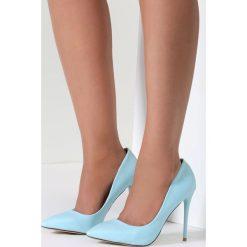 Błękitne Szpilki Exquisite Lady. Niebieskie szpilki marki Mohito. Za 64,99 zł.