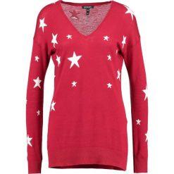 Swetry klasyczne damskie: Baukjen LOXLEY Sweter red/white