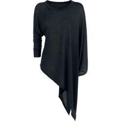 Forplay Knitted Asymmetric Sweater Bluza damska czarny. Czarne bluzy rozpinane damskie Forplay, xl. Za 121,90 zł.