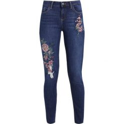 Dorothy Perkins ORIENTAL  Jeans Skinny Fit dark blue denim. Niebieskie jeansy damskie Dorothy Perkins. W wyprzedaży za 151,20 zł.