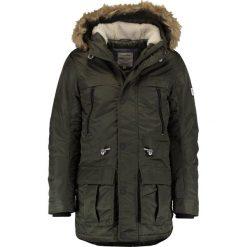 TOM TAILOR DENIM Płaszcz zimowy woodland green. Zielone płaszcze zimowe męskie marki TOM TAILOR DENIM, m, z denimu. W wyprzedaży za 382,85 zł.