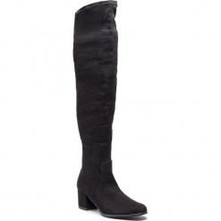 Muszkieterki SAGAN - 3371 Czarna Lycra. Szare buty zimowe damskie marki Born2be, z okrągłym noskiem, na niskim obcasie, na słupku. W wyprzedaży za 259,00 zł.