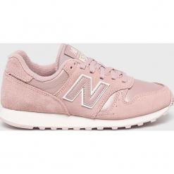 New Balance - Buty. Czerwone buty sportowe damskie marki New Balance, z gumy. W wyprzedaży za 249,90 zł.