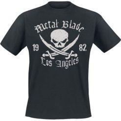 Metal Blade Pirate Logo T-Shirt czarny. Czarne t-shirty męskie Metal Blade, m, z napisami. Za 74,90 zł.