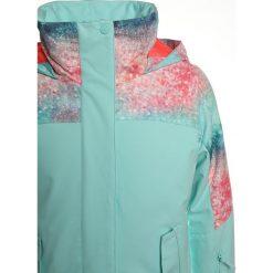 Roxy JETTY BLO  Kurtka snowboardowa neon grapefruit/solargradient. Czerwone kurtki dziewczęce sportowe Roxy, z materiału, narciarskie. W wyprzedaży za 367,20 zł.