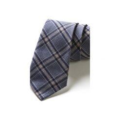Krawat męski PURPLE. Fioletowe krawaty męskie HisOutfit, z materiału. Za 129,00 zł.
