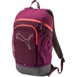 Torby na laptopa: Puma Plecak Echo Backpack Dark Purple Hot Coral