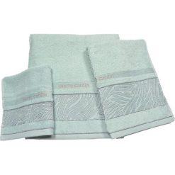 Kąpielówki męskie: 3-częściowy zestaw ręczników w kolorze błękitnym