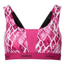 Biustonosze sportowe: Odlo Biustonosz Sports Bra Padded Medium różowy r. XL (130281/70357)