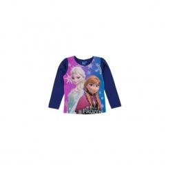 Bluzka dziewczęca z printem Kraina Lodu - Frozen. Szare bluzki dziewczęce TXM, z motywem z bajki. Za 19,99 zł.