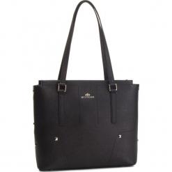 Torebka WITTCHEN - 87-4E-429-1 Czarny. Czarne torebki klasyczne damskie Wittchen, ze skóry. W wyprzedaży za 489,00 zł.